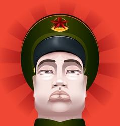 Communist soldier vector image