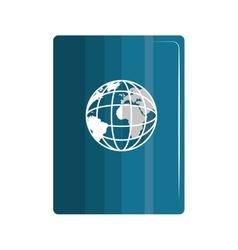 Global world sphere vector