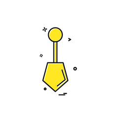 hardware tool icon design vector image