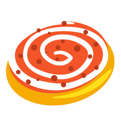 jewish candy bakery icon cartoon style vector image