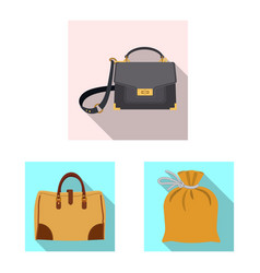 Suitcase and baggage sign vector