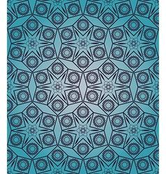 Vintage decorative symmetric seamless pattern vector image