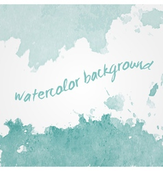 Watercolor background design hand drawn vector