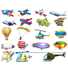 Air transport vector image vector image