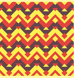 Seamless ethnic zigzag pattern background vector