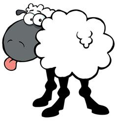 Black Barnyard Sheep vector image vector image