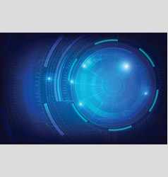 Abstract background for cyber technology vector