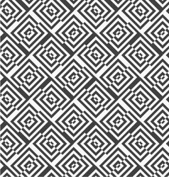 Alternating black and white diagonally cut squares vector