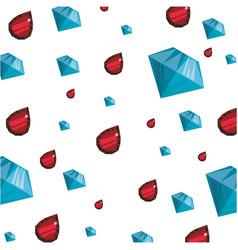 Background wallpaper gemstones jewels vector