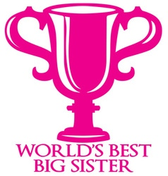 Big Sister Trophy vector