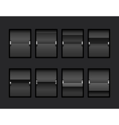 Mechanical Panel Change vector image