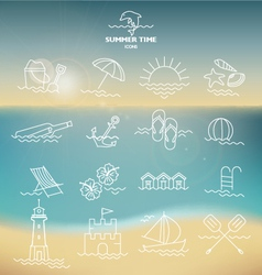 ULTIMATE SUMMER DESIGN ELEMENTS KIT vector