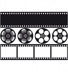 video film vector image