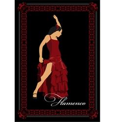 Al 0304 flamenco poster vector