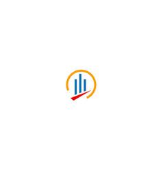 building line business logo vector image
