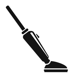 Car vacuum cleaner icon simple style vector