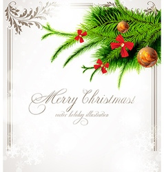 Christmas Tree Ornament Design vector