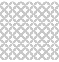 geometric circle seamless star pattern abstract vector image