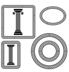 Greek symbol vector