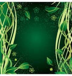 nature border vector image