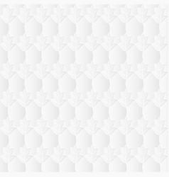 Neutral white leafy texture vector