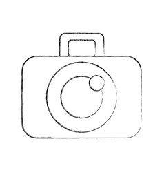 Photographic camera digital vector