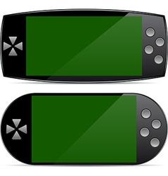 Portable Gamepad concepts vector image