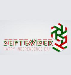 september 9 tajikistan independence day vector image