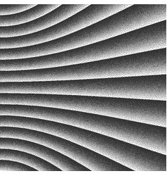 smooth lines dotwork background vector image