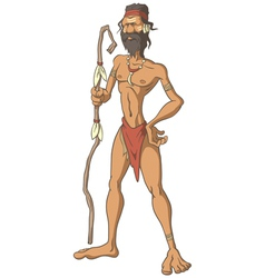 Tribal Man vector image