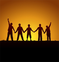 Brotherhood vector image
