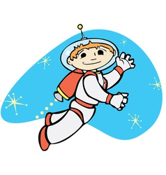 Retro Jet Boy vector image