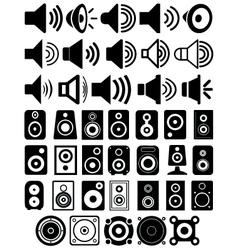 Speakers vector image vector image