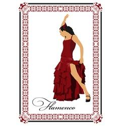 Al 0304 flamenco poster 03 vector