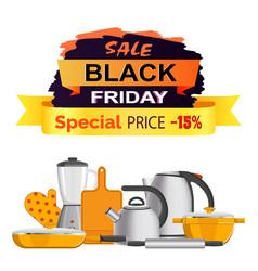 Black friday special sale vector