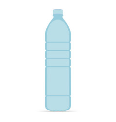 bottle of water icon in flat style isolated on vector image