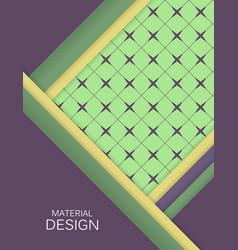 Bright material design vector