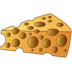 Cheesy slice vector