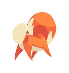 cute pomeranian spitz funny pet dog cartoon vector image