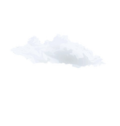 dark cloud vector image