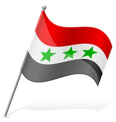 Flag of iraq vector