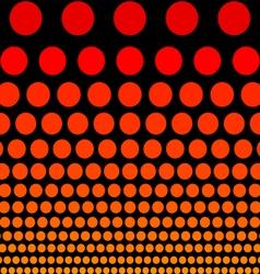 Flat circles vector