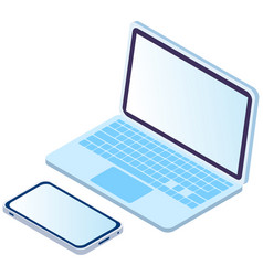 modern technology devices vector image
