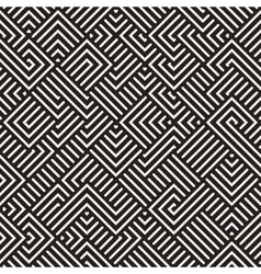 Seamless Irregular Maze Lines Geometric vector
