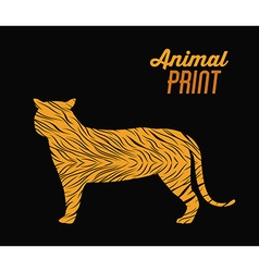 Animal Print design vector image vector image