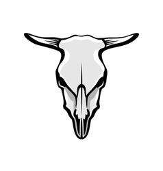 Cows Skull vector image vector image