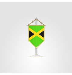 National symbols of caribbean countries jamaica vector