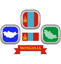 symbol of Mongolia vector image vector image