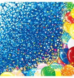 Festive Party Background vector image vector image