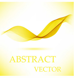 abstract motion smooth color wave curve vector image